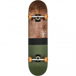 BOARD COMPLETE GLOBE G2 HALF DIP - 8.0 DARK MAPLE GREEN