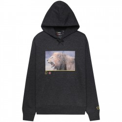 SWEAT ELEMENT X NAT GEO SNARL - CHARCOAL HEATHER