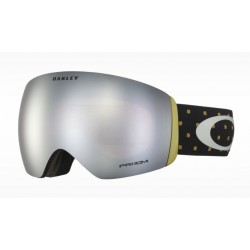 MASQUE OAKLEY FLIGHT DECK - BLOCKOGRPAHY BURNISHED PRIZM SNOW BLACK IRIDIUM