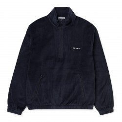 SWEAT CARHARTT WIP TILA PULLOVER - DARK NAVY WHITE