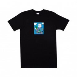T-SHIRT RIPNDIP CONFISCATED - BLACK
