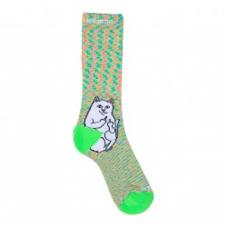 CHAUSSETTES RIPNDIP LORD NERMAL - NEON SPECKLE