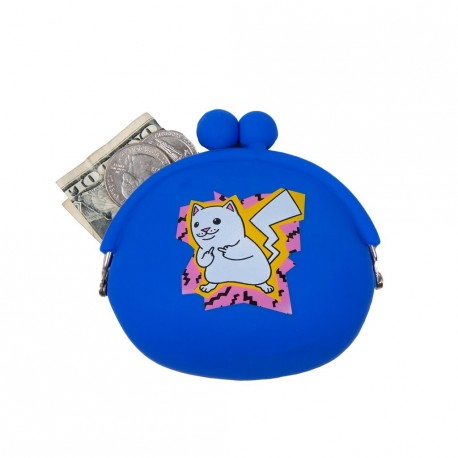 PORTE-MONNAIE RIPNDIP CATCH EM ALL - BLUE