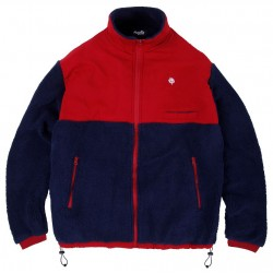 VESTE MAGENTA TRICOLOR JACKET - NAVY RED