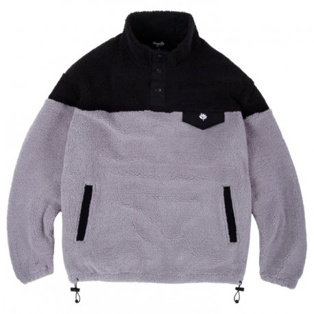 SWEAT MAGENTA MOUNTAIN CREW DUO - BLACK ASH