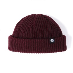 BONNET MAGENTA LOW BEANIE - BURGUNDY
