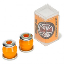 INDEPENDENT BUSHINGS CONICAL (JEU DE 4 GOMMES) MEDIUM 90A - ORANGE