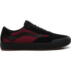 CHAUSSURES VANS BERLE PRO - PUNK BLACK BEET RED