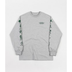 T-SHIRT PASSPORT FLORAL FRIENDS LS - ASH