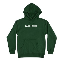 SWEAT PASSPORT BARBS HOODIE - FOREST