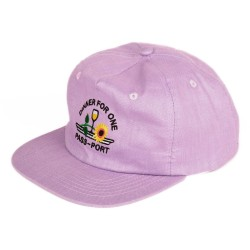 CASQUETTE PASSPORT DINNER FOR ONE - PURPLE