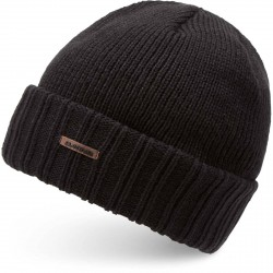 BONNET DAKINE HARVEY - BLACK SOLID