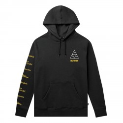 SWEAT HUF PULP FICTION MIA TRIPLE TRIANGLE - BLACK