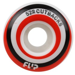 ROUES FLIP CUTBACKS RED 99A - 52MM