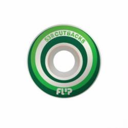 ROUES FLIP CUTBACKS GREEN 99A - 53MM