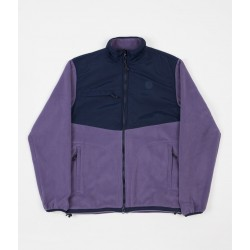 VESTE POLAR HALBERG FLEECE - LILAC NAVY