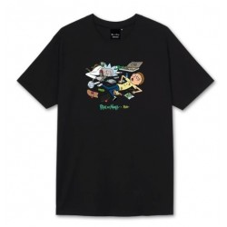 T-SHIRT TEALER X RICK & MORTY PARTY - BLACK