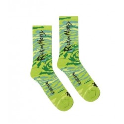 CHAUSSETTES TEALER X RICK & MORTY SPIRALE - GREEN