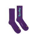 CHAUSSETTES TEALER X RICK & MORTY SPACE TIME - PURPLE