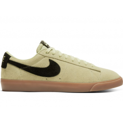 CHAUSSURES NIKE SB ZOOM BLAZER LOW GT - OLIVE BLACK