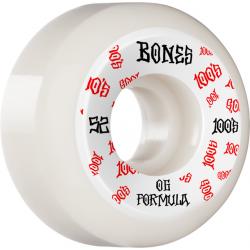 ROUES BONES WHEELS (JEU DE 4) 100'S 52MM