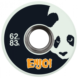 ROUES ENJOI WHEELS (JEU DE 4) 62MM ASTRO PANDA GLOW IN THE DARK