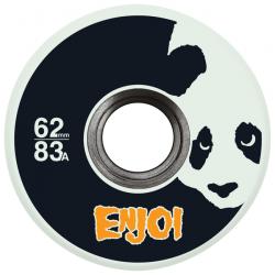 ROUES ENJOI WHEELS (JEU DE 4) 62MM ASTRO PANDA GLOW IN THE DARK
