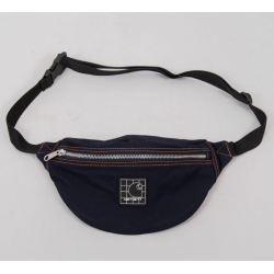 BANANE CARHARTT WIP STRATFORD HIP BAG - DARK NAVY CLOCKWORK