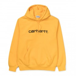SWEAT CARHARTT WIP HOODED CARHARTT - SUNFLOWER BLACK