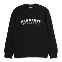 SWEAT CARHARTT WIP DISTRICT - BLACK WHITE