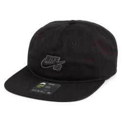 CASQUETTE NIKE SB CAP PRO - BLACK BLACK