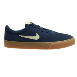 CHAUSSURES NIKE SB CHARGE SUEDE - MIDNIGHT MARINE OLIVE AURA