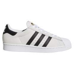 CHAUSSURES ADIDAS SUPERSTAR ADV - WHITE BLACK GOLD