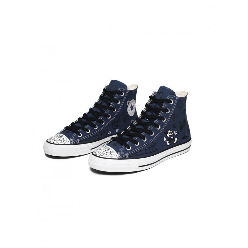 Chaussures Converse Ctas Sean Pablo Hi Navy White