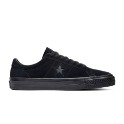CHAUSSURES CONVERSE ONE STAR PRO OX - BLACK BLACK