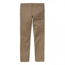 PANTALON CARHARTT WIP SID PANT - LEATHER RINSED