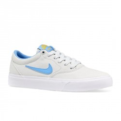 CHAUSSURE NIKE SB CHARGE CNVS GS - PHOTON DUST UNIVERSITY BLUE