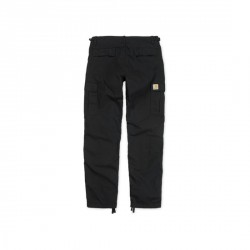 PANTALON CARHARTT WIP AVIATION CARGO PANT - BLACK RINSED