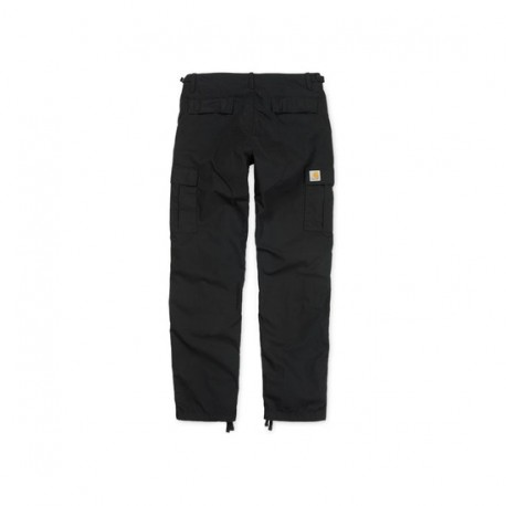 PANTALON CARHARTT AVIATION PANT - BLACK RINSED