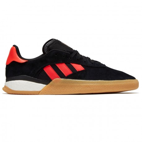 CHAUSSURES ADIDAS 3ST .004 - BLACK SOLAR RED WHITE