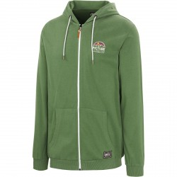 SWEAT PICTURE ORGANIC HAMILTON ZIP - ARMY GREEN