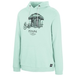 SWEAT PICTURE ORGANIC WINTON HOODIE - GUM GREEN