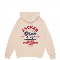 SWEAT JACKER BUSINESS CLUB - BEIGE