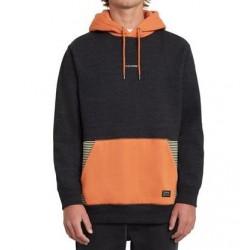 SWEAT VOLCOM FORZEE HOOD - BURNT ORANGE