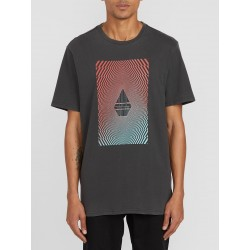 T-SHIRT VOLCOM FLOATION TEE - BLACK