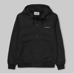 VESTE CARHARTT WIP MARSH JACKET - BLACK WHITE