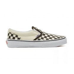 CHAUSSURES VANS CLASSIC SLIP ON JUNIOR - CHECKERBOARD