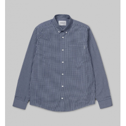 CHEMISE CARHARTT WIP ALISTAIR - CHECK BLUE