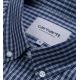 CHEMISE CARHARTT WIP ALISTAIR - CHECK BLUE