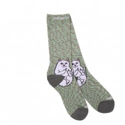 CHAUSSETTES RIPNDIP LORD NERMAL - GREY SPECKLE
